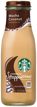 Starbucks® Mocha Coconut Frappuccino® Coffee Drink 13.7 fl. oz. Glass Bottle