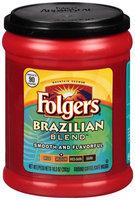 Folgers® Brazilian Blend™ Medium Roast Ground Coffee 10.3 oz. Canister