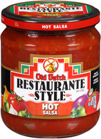 Old Dutch® Restaurante Style Hot Salsa 16 oz. Jar