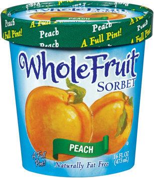 Whole Fruit® Peach Sorbet 16 oz. Tub