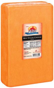 Alto® Mild Yellow Cheddar Cheese 10 Lb Chunk