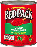 RedPack® Diced Tomatoes in Tomato Puree 102 oz. Can