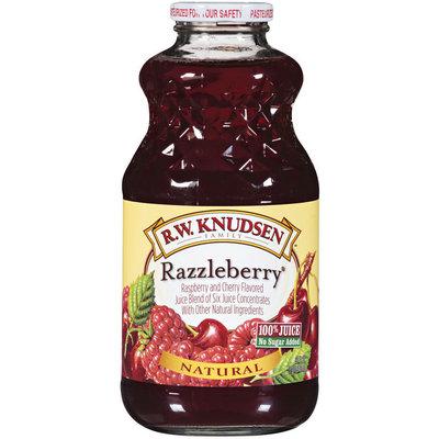 R.W. Knudsen Family™ Razzleberry Juice 32 Oz Glass Bottle