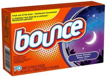 Bounce Sweet Dreams Fabric Softener Sheets 70 ct Box