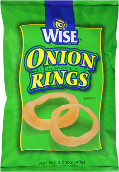 Wise® Onion Flavored Rings 3.5 oz. Bag
