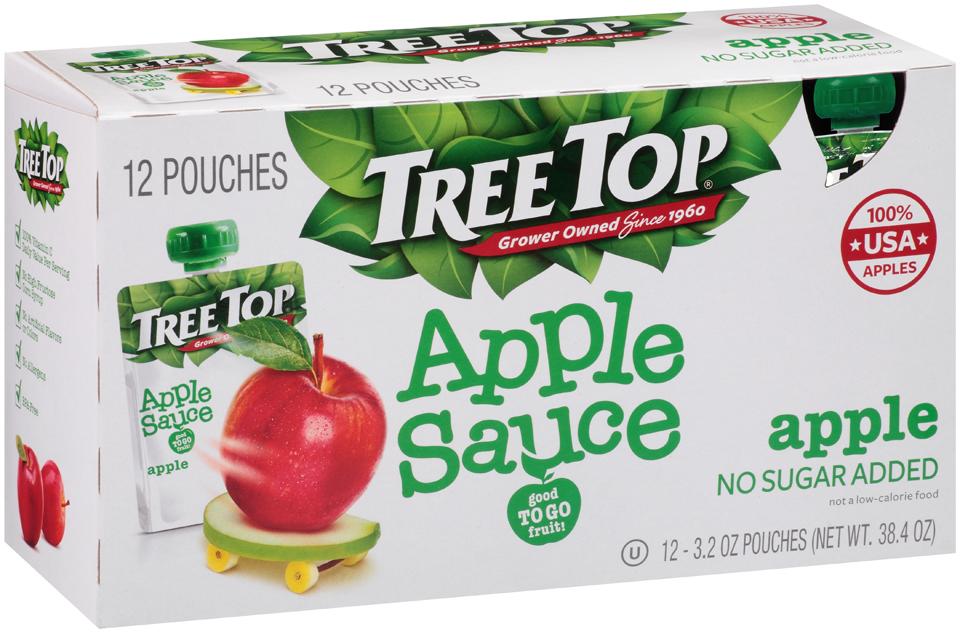 Tree Top® Apple Sauce 12-3.2 oz Pouches