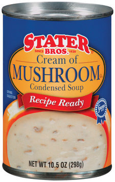 Stater Bros. Cream of Mushroom Condensed Soup 10.5 Oz Can