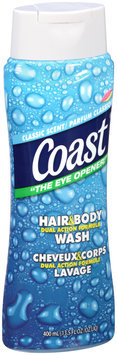 Coast® Dual Action Formula Classic Scent Hair & Body Wash 13.5 fl. oz. Bottle