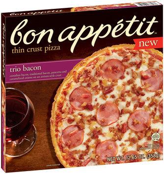 Bon Appetit™ Trio Bacon Thin Crust Pizza 12.65 oz. Box