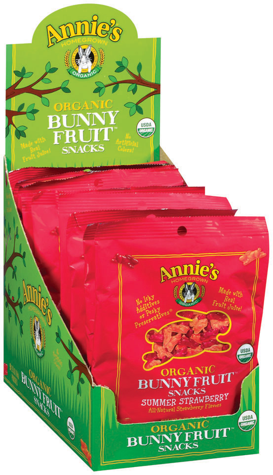 Annie's Homegrown® Summer Strawberry Organic Bunny Fruit™ Snacks