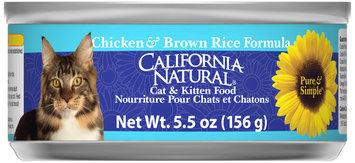 California Natural® Chicken & Brown Rice Formula Wet Cat & Kitten Food