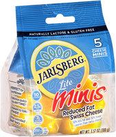 Jarlsberg® Lite Reduced Fat Swiss Cheese Minis 5-3.57 oz. Bag