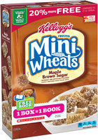 Kellogg's Frosted Mini-Wheats Maple Brown Sugar Cereal