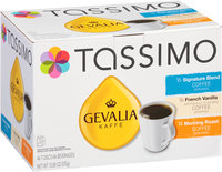 Tassimo Signature Blend/French Vanilla/Morning Roast Coffee T Discs Variety Pack 46 ct Box