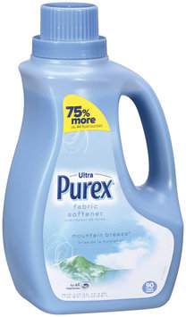 Purex Fabric Softeners Ultra Mountain Breeze 90 Loads Fabric Softener 77 Oz Jug