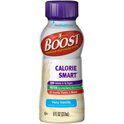 Boost® Calorie Smart™ Very Vanilla Balanced Nutritional Drink 8 fl oz. Bottle