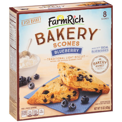 Farm Rich Bakery™ Blueberry Scones 8 ct Box