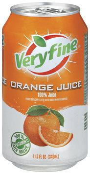 Veryfine Orange 100% Juice 11.5 Oz Pull-Top Can