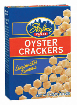 Skyline Chili  Oyster Crackers 6 Oz Box