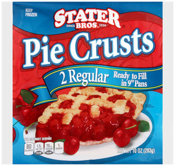 Stater Bros.® 2 Regular Pie Crusts 10 oz. Bag