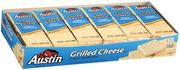 Austin Grilled Cheese Cracker Sandwiches 16.5 Oz Box
