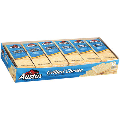 Austin Grilled Cheese Cracker Sandwiches 16.5 Oz Box