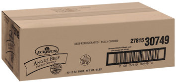 Eckrich Angus Beef Smoked Sausage 12 Oz Pack