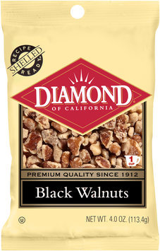 Diamond of California® Black Walnuts 4 oz. Bag