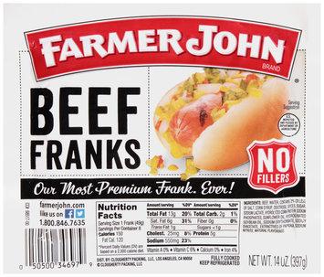Farmer John Brand® Beef Franks