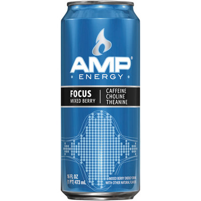 AMP® Energy Focus Mixed Berry 16 fl. oz. Can