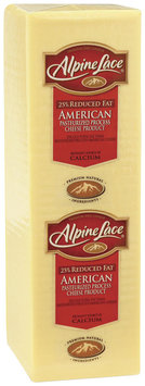 Alpine Lace® American Reduced Fat White Deli Cheese 1 Ct Brick