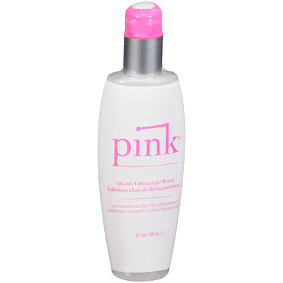 Pink® Silicone-Based Personal Lubricant for Women 6.7 oz. Pump