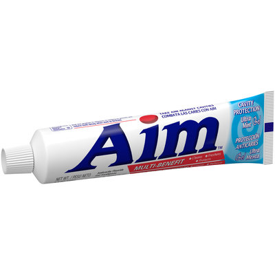 Aim™ Multi-Benefit Cavity Protection Ultra Mint Gel Toothpaste 5.5 oz. Box