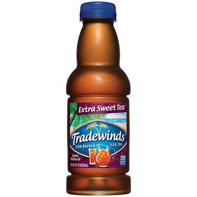 Tradewinds Extra Sweet Tea 20 fl. oz. Plastic Bottle