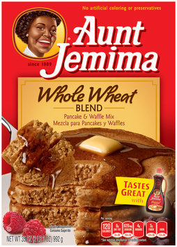 Aunt Jemima Whole Wheat Blend Pancake & Waffle Mix
