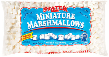 Stater Bros. Miniature Marshmallows 16 Oz Bag