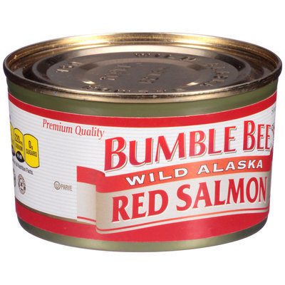 Bumble Bee® Wild Alaska Red Salmon 7.5 oz. can