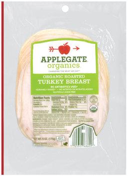 Applegate Farms Organic Roasted (Item Number 686) Turkey Breast 6 Oz Peg