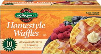 Haggen Homestyle 10 Ct Waffles 12.3 Oz Box