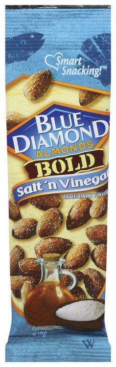 Blue Diamond Bold Salt 'n Vinegar Almonds 1.5 Oz Peg