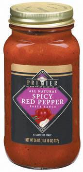 Haggen Premier Spicy Red Pepper All Natural Pasta Sauce 26 Oz Jar