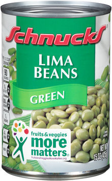 Schnucks® Green Lima Beans 15 oz. Can