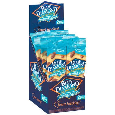 Blue Diamond Roasted Salted 1.5 Oz Almonds 12 Ct Box