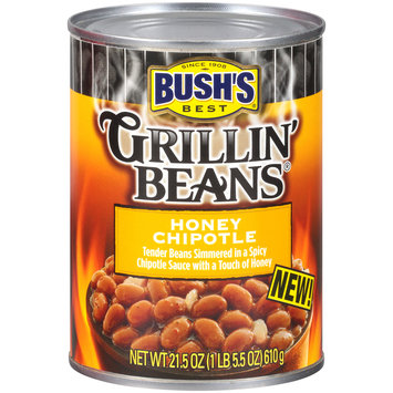 Bush's Best® Grillin' Beans® Honey Chipotle 21.5 oz. Can