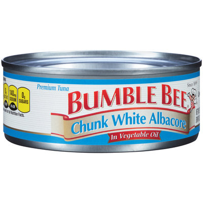 Bumble Bee® Premium Chunk White Albacore in Vegetable Oil 5 oz. Can