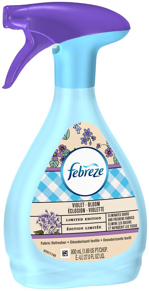 Febreze Fabric Refresher Violet Bloom Air Freshener (1 Count, 16.9 Fl Oz)