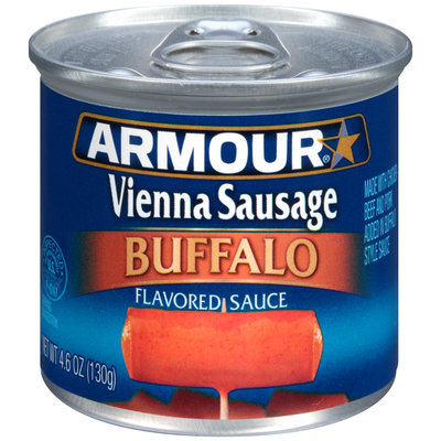Armour® Buffalo Flavored Sauce Vienna Sausage 4.6 oz. Can