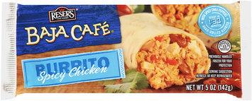Baja Cafe® Spicy Chicken Burrito 5 oz.