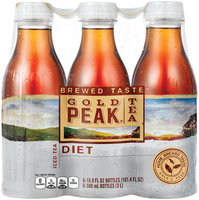 Gold Peak® Diet Iced Tea 6-16.9 fl. oz. Plastic Bottles