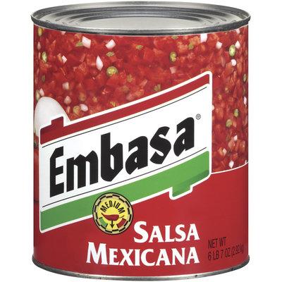 Embasa® Medium Mexicana Salsa 103 oz. Can